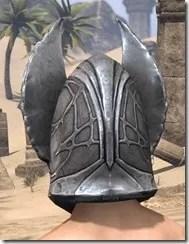 Aldmeri Dominion Iron Helm - Male Rear