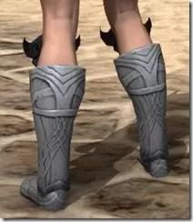 Aldmeri Dominion Iron Sabatons - Female Rear