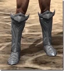 Aldmeri Dominion Iron Sabatons - Male Front