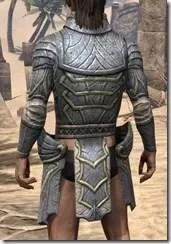 Ancient Elf Iron Cuirass - Male Rear