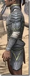 Ancient Elf Iron Cuirass - Male Side