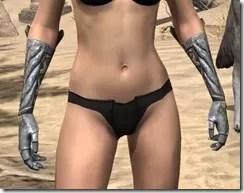 Ancient Elf Iron Gauntlets - Female Front