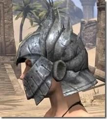 Ancient Elf Iron Helm - Female Side