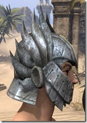 Ancient Elf Iron Helm - Male Right
