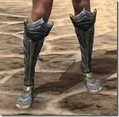 Ancient Elf Iron Sabatons - Female Front