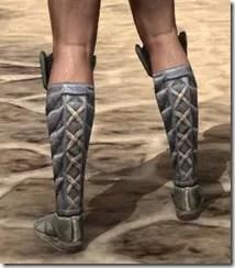 Ancient Elf Iron Sabatons - Male Rear