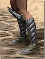 Ancient Elf Iron Sabatons - Male Side