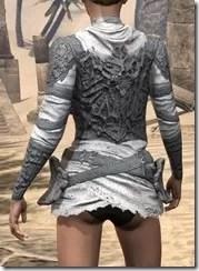 Ashlander Iron Cuirass - Female Rear