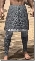 Ashlander Iron Greaves - Male Front