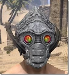 Ashlander Iron Helm - Male Front