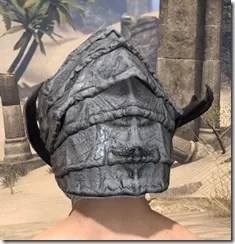 Ashlander Iron Helm - Male Rear