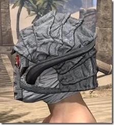 Ashlander Iron Helm - Male Side