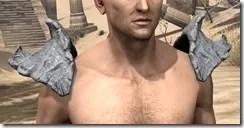 Ashlander Iron Pauldron - Male Front