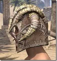 Barbaric Iron Helm - Male Side