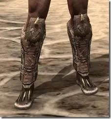 Barbaric Iron Sabatons - Male Front
