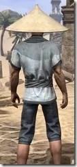 Budi-Shirt and Galligaskins - Male Close Rear