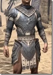 Daggerfall Covenant Iron Cuirass - Male Front