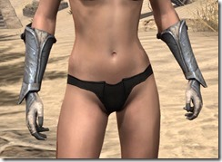 Daggerfall Covenant Iron Gauntlets - Female Front