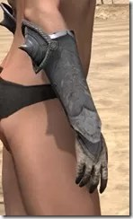 Daggerfall Covenant Iron Gauntlets - Female Right