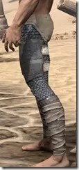 Daggerfall Covenant Iron Greaves - Male Side