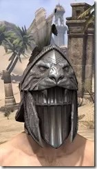 Daggerfall Covenant Iron Helm - Male Front