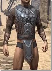 Dark Brotherhood Iron Cuirass - Male Front