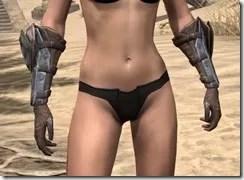 Dark Brotherhood Iron Gauntlets - Female Front