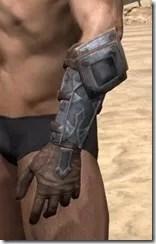 Dark Brotherhood Iron Gauntlets - Male Side