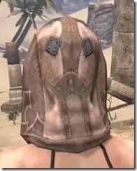 Dark Brotherhood Iron Helm - Female Rear