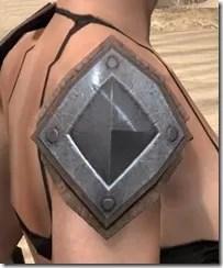 Dark Brotherhood Iron Pauldron - Female Right