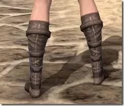 Dark Brotherhood Iron Sabatons - Female Rear