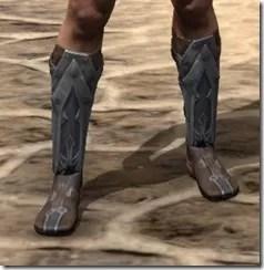 Dark Brotherhood Iron Sabatons - Male Front