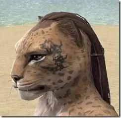 Dragonbone Chain Face Marking - Khajiit Side