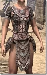 Draugr Iron Cuirass - Female Front