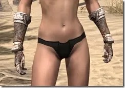 Draugr Iron Gauntlets - Female Front