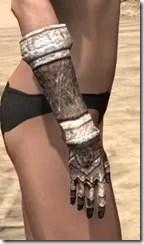 Draugr Iron Gauntlets - Female Right