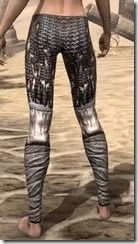 Draugr Iron Greaves - Female Rear
