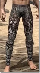 Draugr Iron Greaves - Male Front