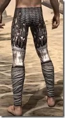 Draugr Iron Greaves - Male Rear