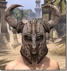 Draugr Iron Helm - Male Front