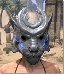 Dro-m'Athra Iron Helm - Female Front