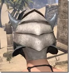 Dro-m'Athra Iron Helm - Female Rear