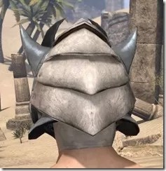 Dro-m'Athra Iron Helm - Male Rear