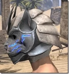 Dro-m'Athra Iron Helm - Male Side