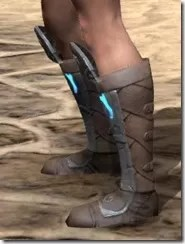 Dro-m'Athra Rawhide Boots - Female Side