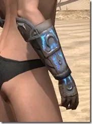 Dro-m'Athra Rawhide Bracers - Female Right