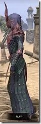 Ebonheart Pact Homespun - Dyed Robe Side