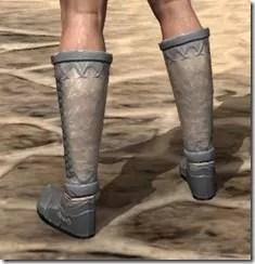 Ebonheart Pact Homespun Shoes - Male Rear