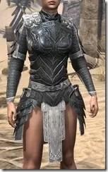 Ebony Iron Cuirass - Female Front