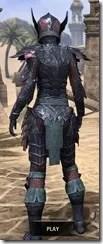 Ebony Iron - Dyed Rear